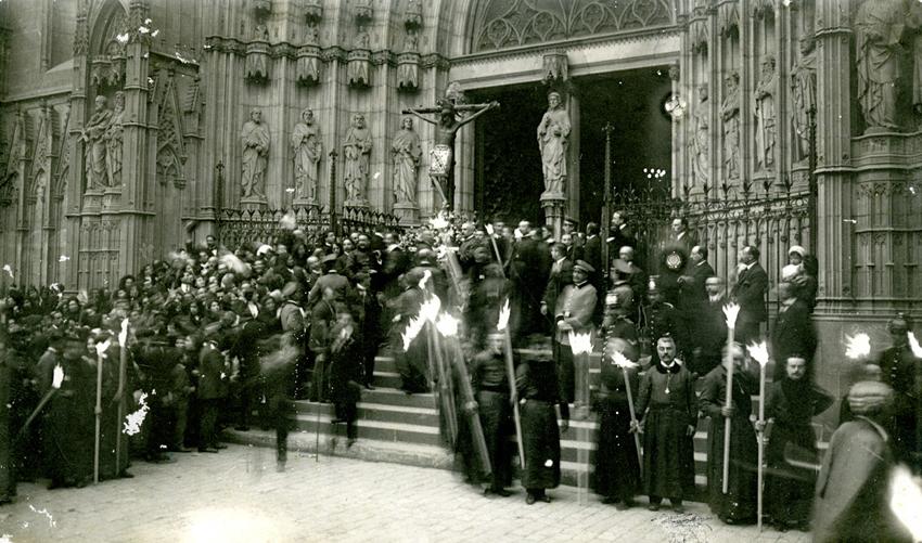 1913, Festes Constantinianes a la Catedral de Barcelona